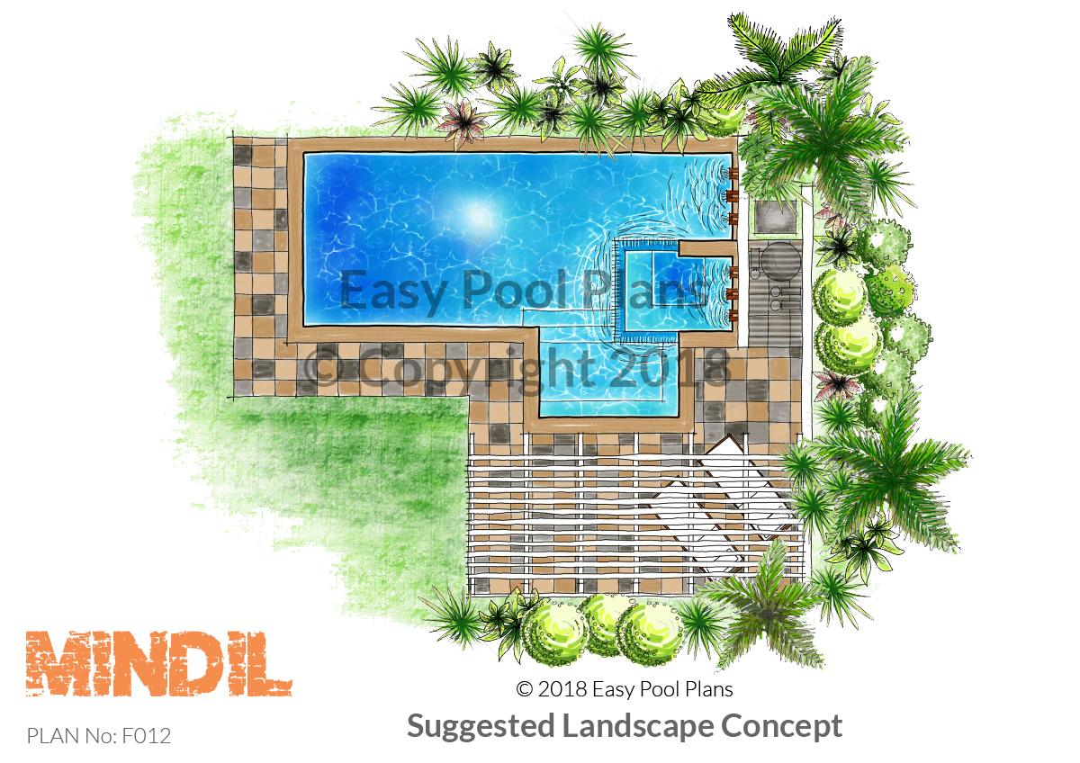 Concept plans easy pool plans for Pool design program