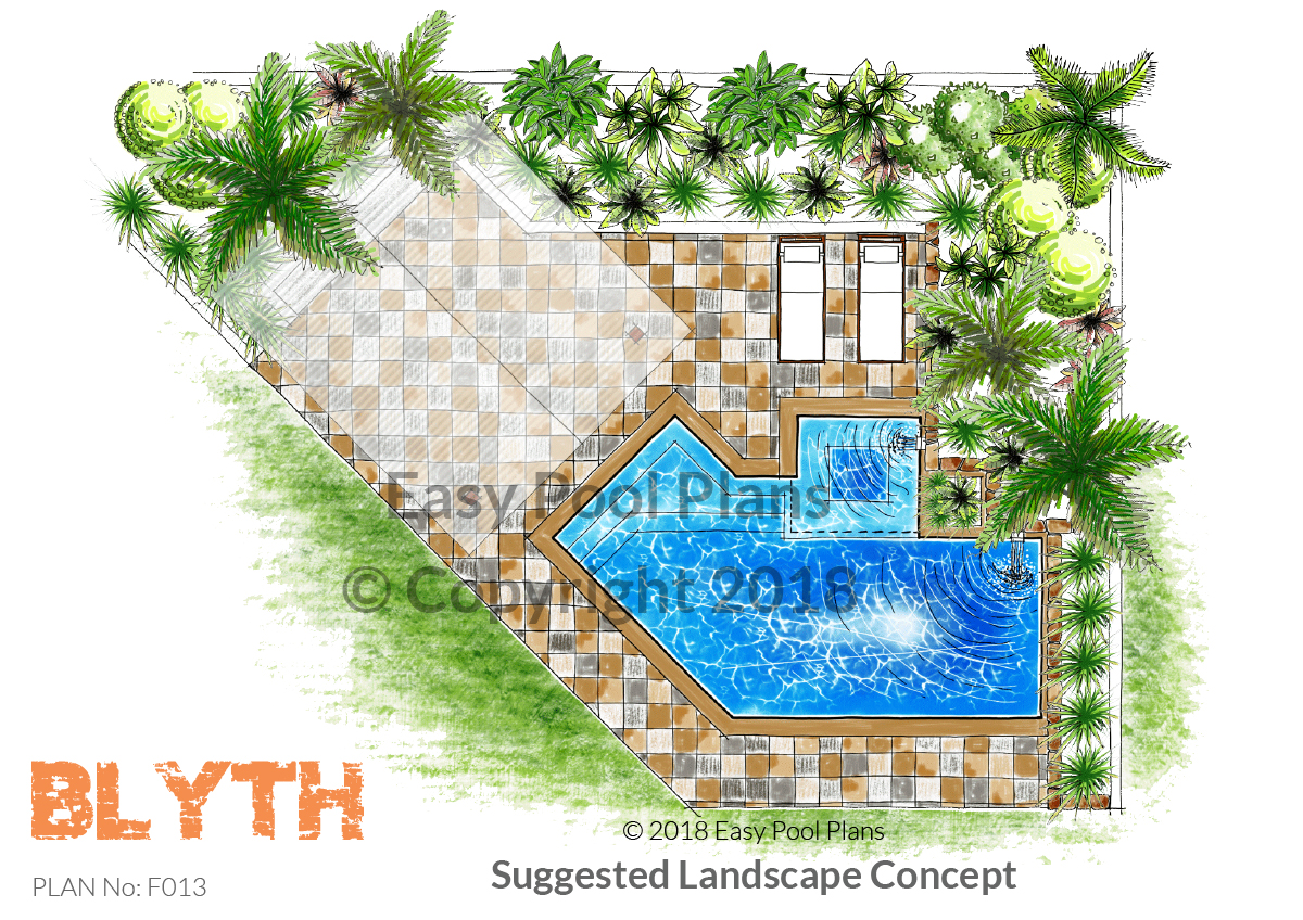 Concept plans easy pool plans for Pool plans free
